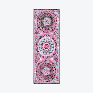 Suzani Magic Carpet Yoga Mat - Blush