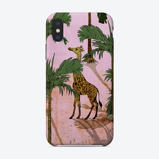 Giraffe In The Trees Phone Case