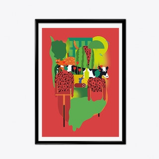 Love in Milan Art Print
