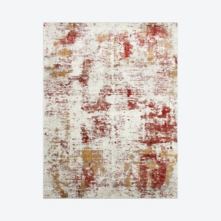 Louis Darcy Rug - Ivory / Red