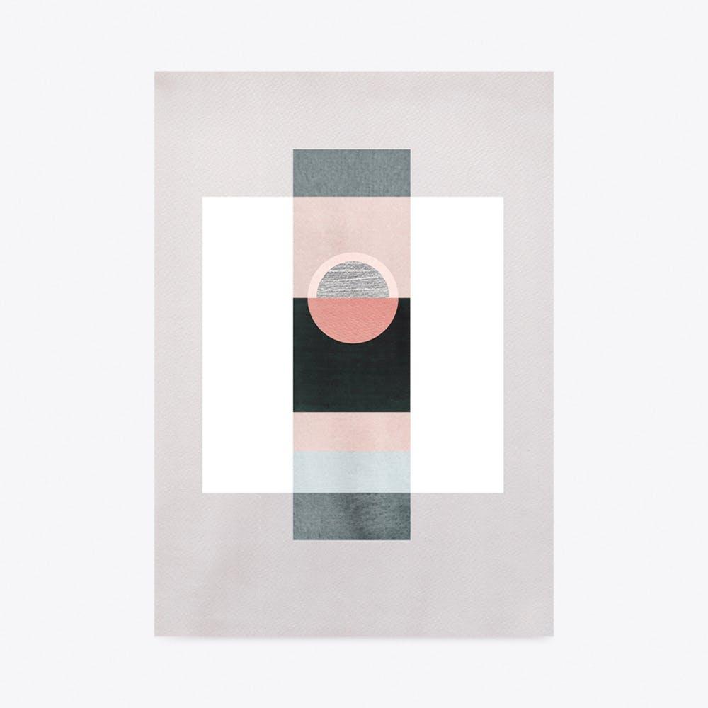 Art Deco Composition Print A3