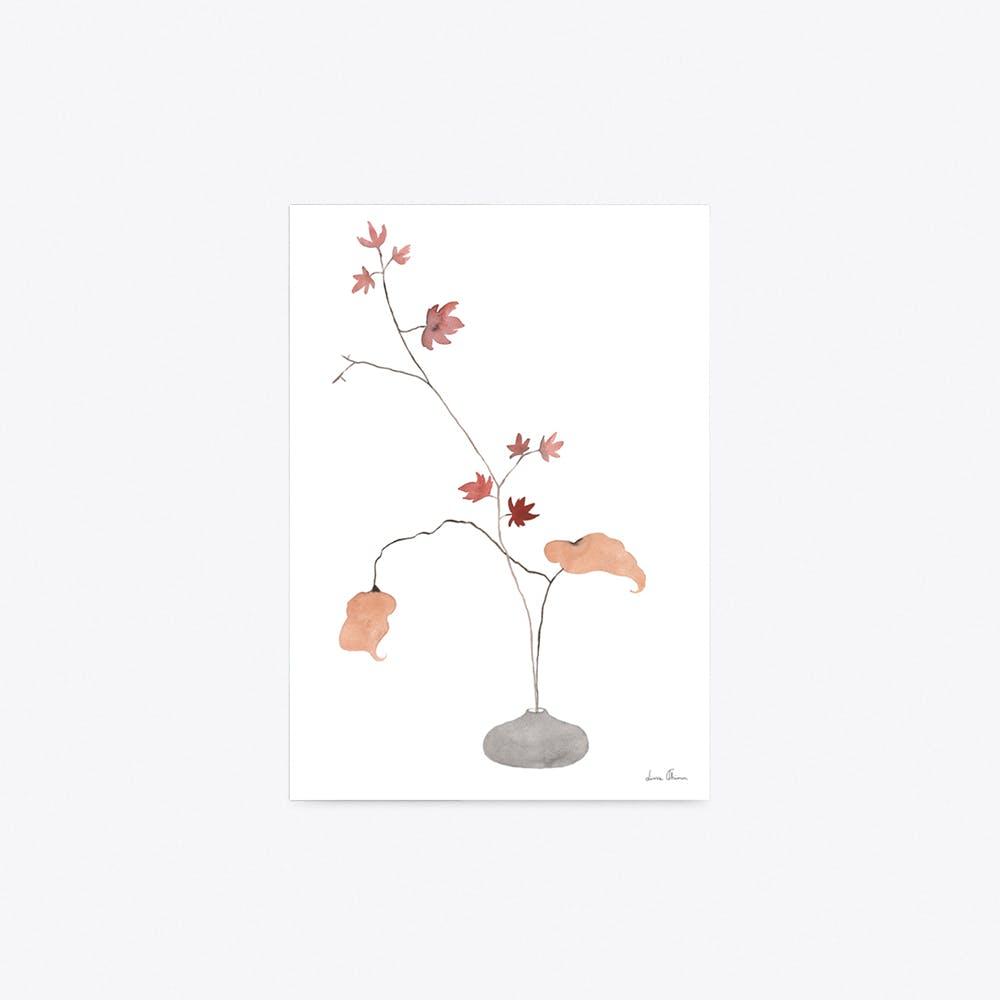 Maple Ikebana Print A4