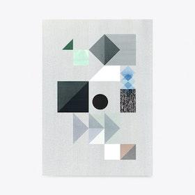 Grey Storm Art Print A3