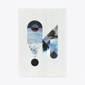 Eyedrop Art Print A3