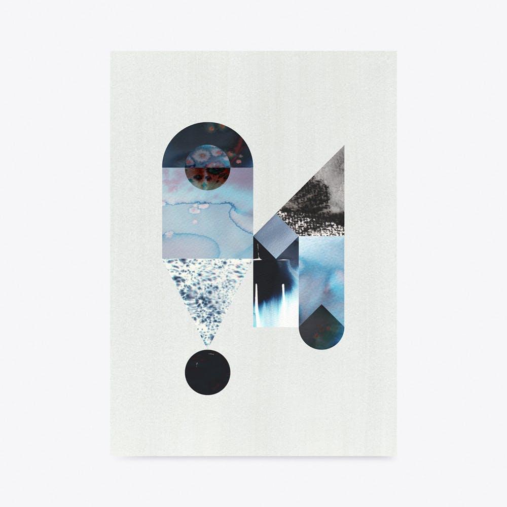 Eyedrop Print A3