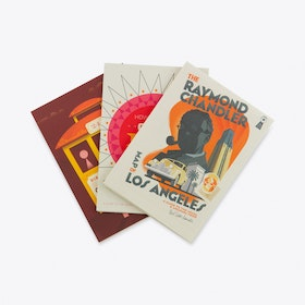 California Dreamin, Set of 3 Fold Out Maps