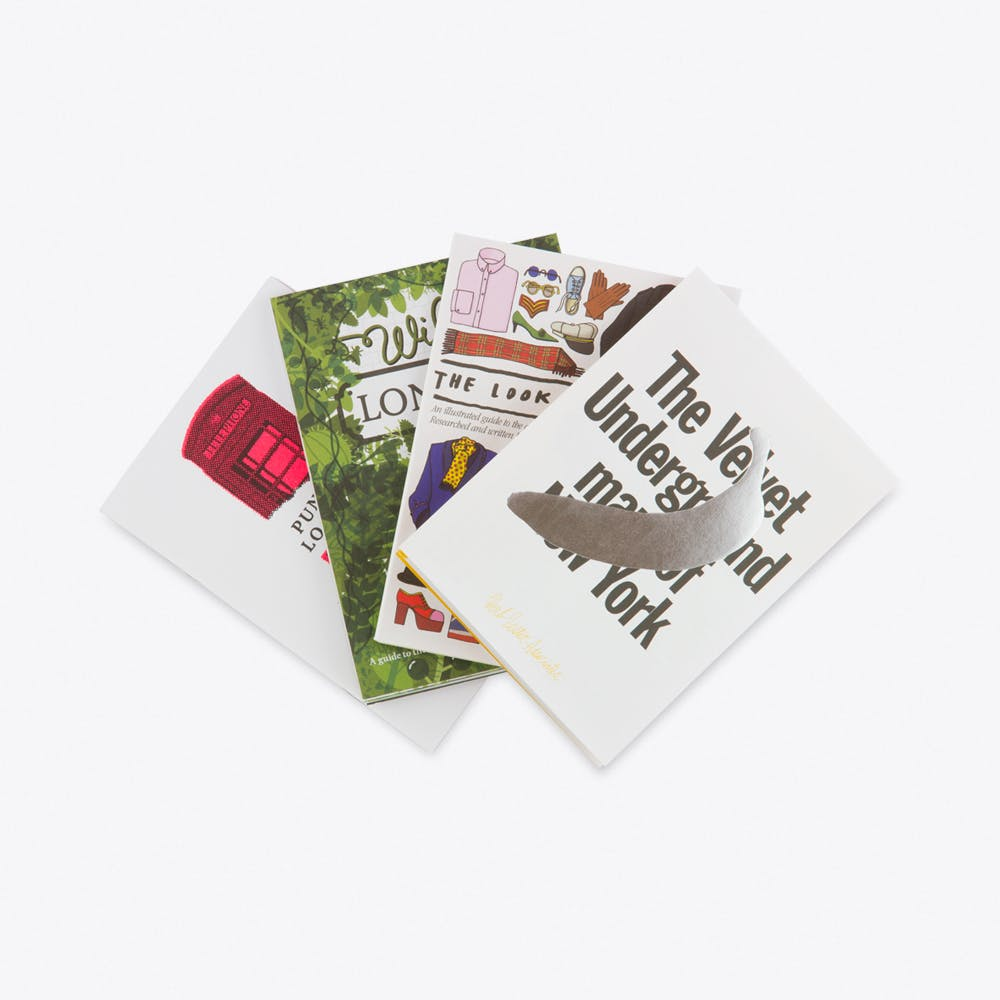 Wild Things, Set of 4 Fold Out Maps