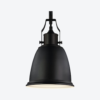 Hobson Pendant - Oil Rubbed Bronze - Opaque