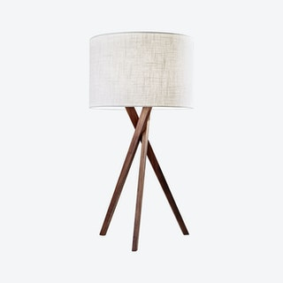 Brooklyn Table Lamp - Walnut Wood