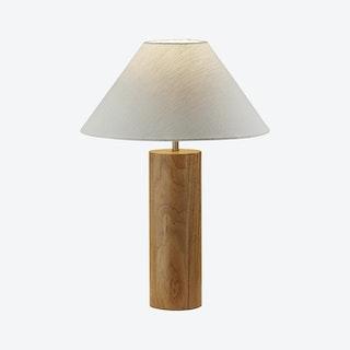 Martin Table Lamp - Natural Oak Wood