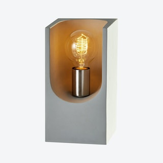 Clyde Table Lantern - Cement