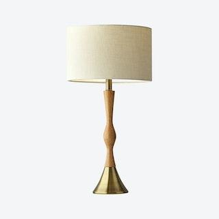 Eve Table Lamp - Natural Oak Wood