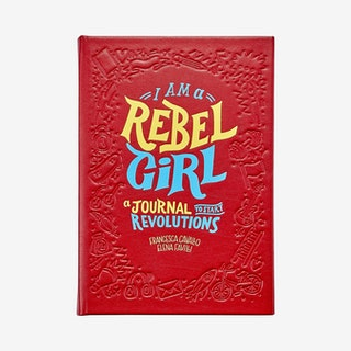I am a Rebel Girl' Journal - Leather