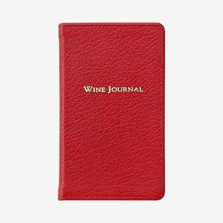 Pocket Wine Journal - Garnet - Leather
