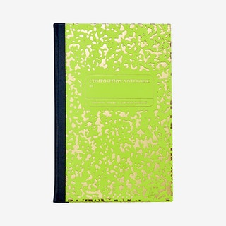 Marble Notebook - Lime