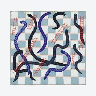 Game Quilt - Snakes and Ladders