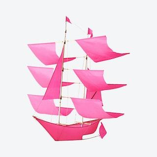 Sailing Ship Kite - Pink