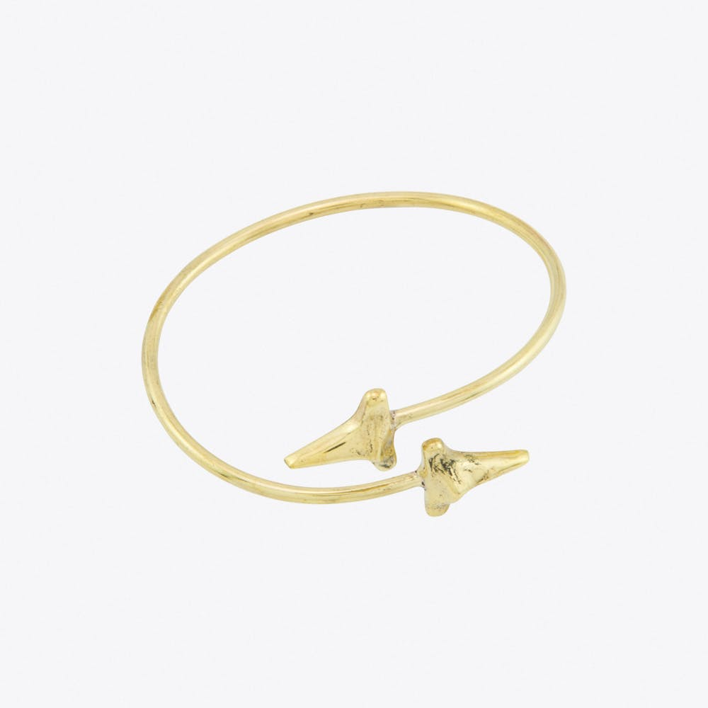 Shark Teeth Bangle