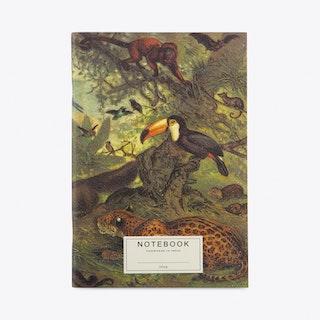 Tapii Jungle A5 Notebook