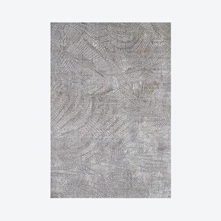 Juan Power Loomed Area Rug - Grey
