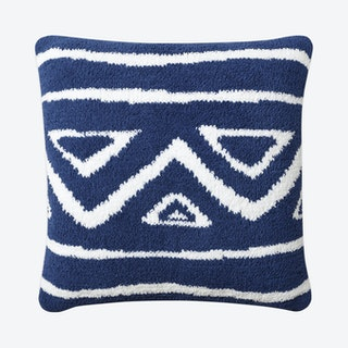 Tetouan Throw Pillow - Navy