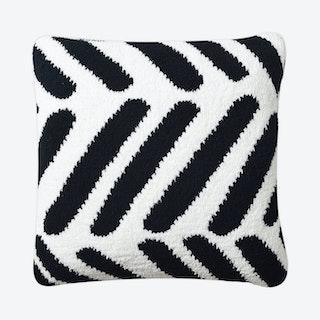 Tulum Throw Pillow - Black