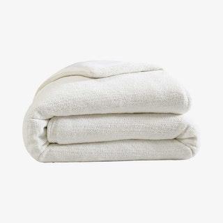 Snug Duvet Cover - Off White - Bamboo