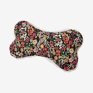 Floral Lavender Dog Zenbone - Black