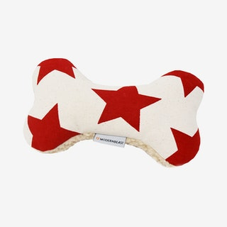 Star Adventure Dog Bone - Red
