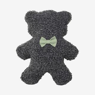 Polkadot Lavender Bedtime Bear - Charcoal / Mint