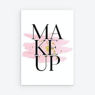 Eau de Parfum Canvas Prints - Makeup