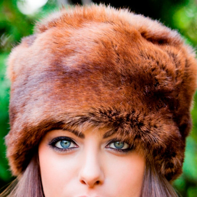 e6b3ba1e7247d Tiffany Faux Fox Fur Cossack Hat in Pale Brown by Faux UK. Discover Hats on  Fy