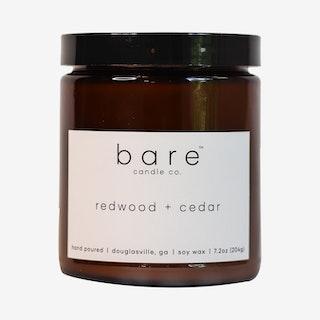 Amber Jar - Soy Wax - Redwood and Cedar