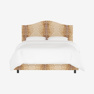 Kenmore Bed - Fawn