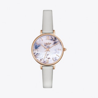 Snowflake Watch in Gold & Grey