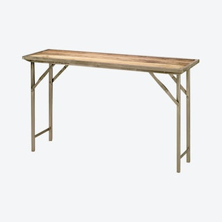 Campaign Console Table - Natural