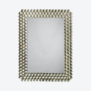 Honeycomb Mirror - Champagne