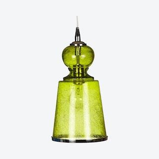 Long Lafitte Pendant Lamp - Celadon Seeded