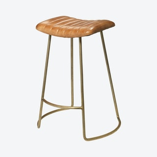 Theo Counter Stool - Brown
