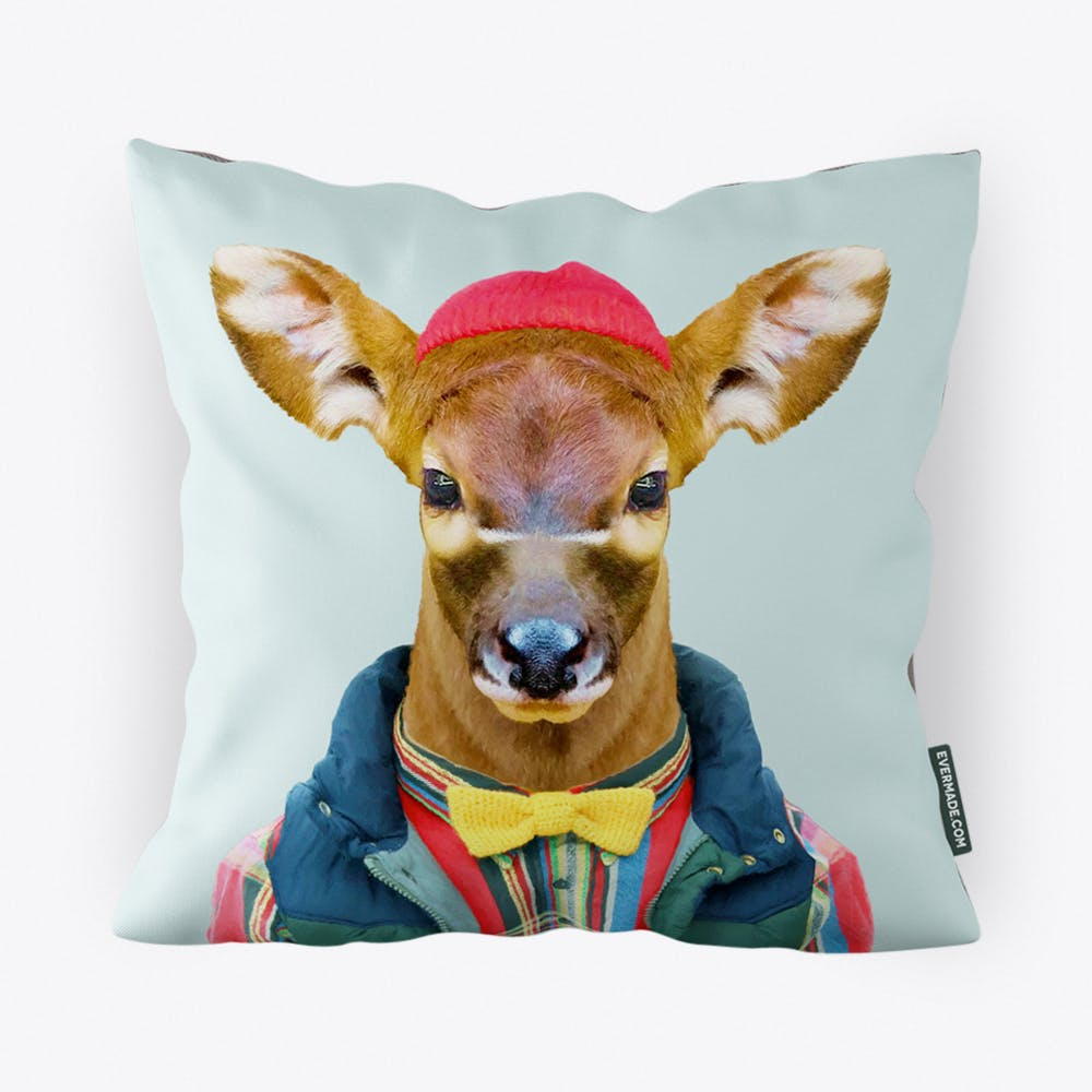 Bongo Calf Cushion