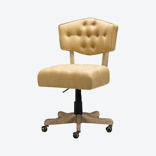 Camila Task Chair - Yellow - Linen