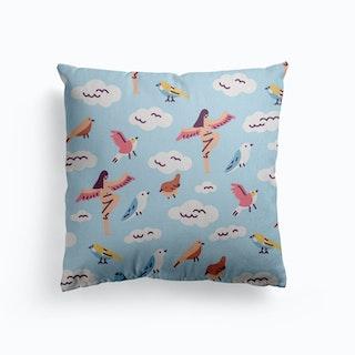 Birds Canvas Cushion
