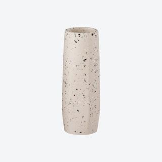 Terrazzo Vase - White