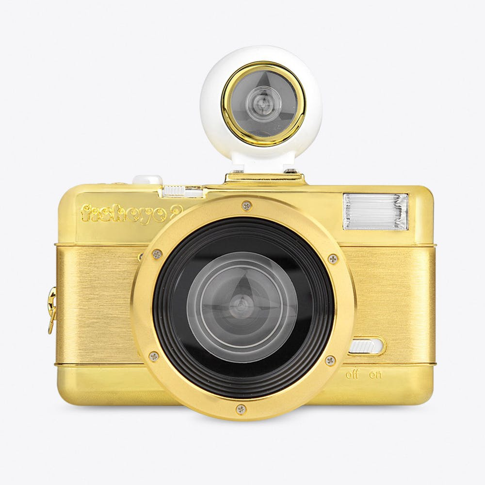 Fisheye2 Camera in Gold