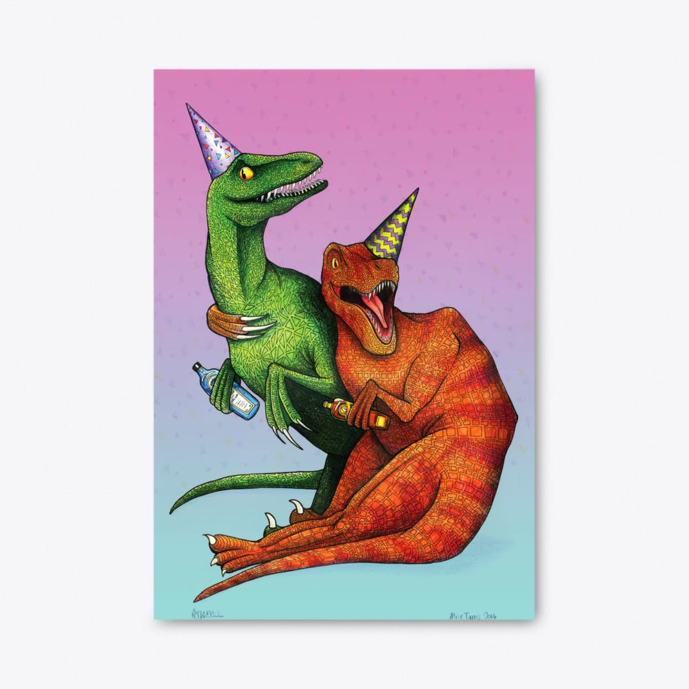 Raptors on Tour A3 Prints