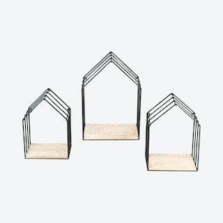 House Shelves - Set of 3