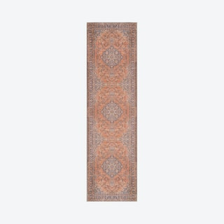 Afshar Runner Rug - Copper