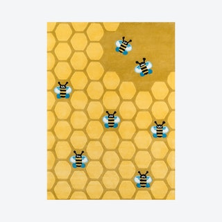 Lil Mo Whimsy Area Rug - Honeycomb