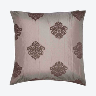 Duomo Square Pillow Cover - Light Grey