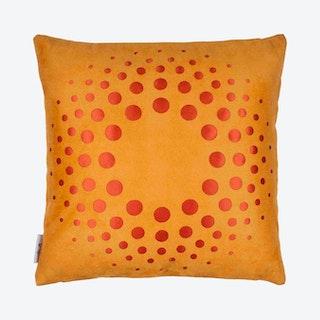 Solar Square Pillow Cover - Light Orange